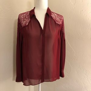 Lauren Conrad Dress Blouse